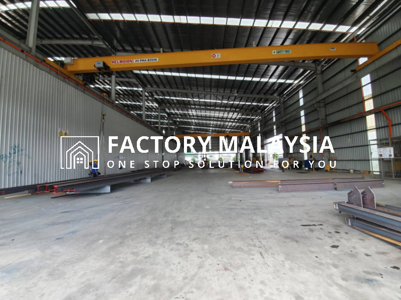PASIR GUDANG FOR SALE @ DETACHED FACTORY