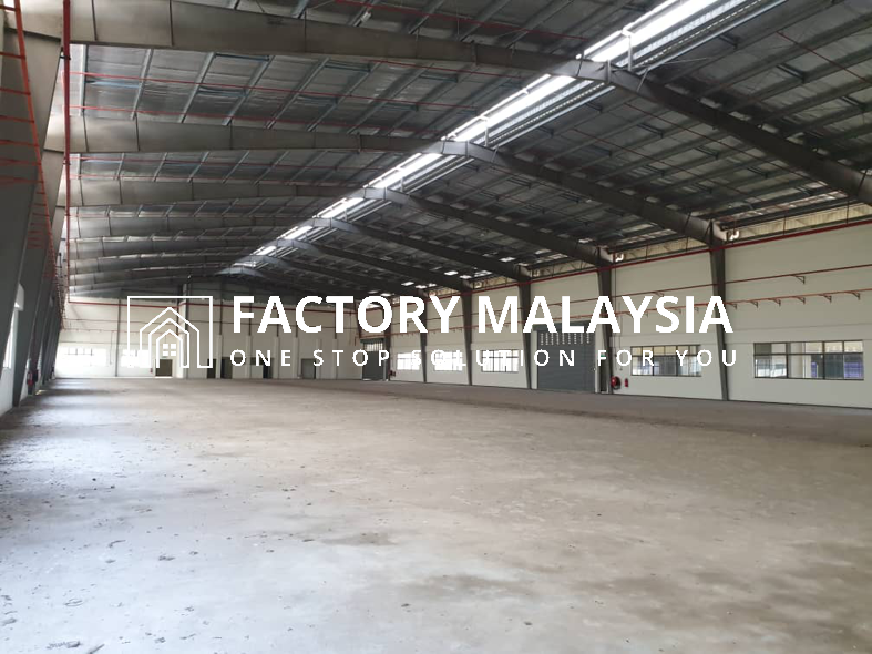 NUSA CEMERLANG FOR RENT @ SINGLE STOREY DETACHED FACTORY