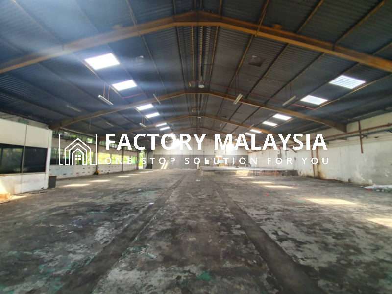 PASIR GUDANG FOR RENT @ DETACHED FACTORY